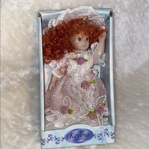 Other - Kevina collection mini porcelain doll